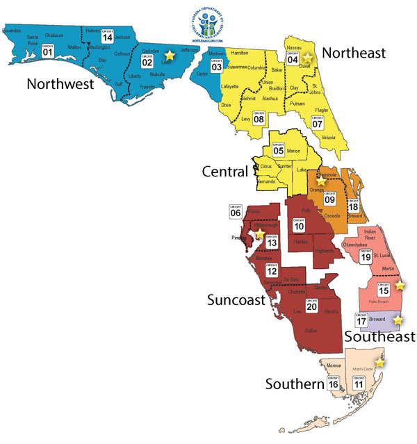 Central Florida County Map.Managing Entities Central Florida Cares Health System Inc