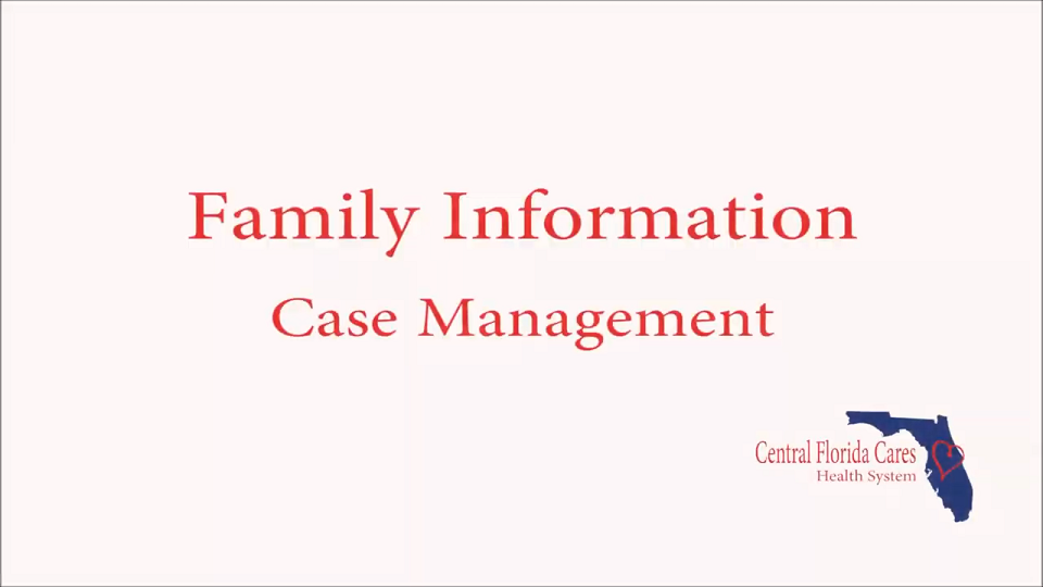 Family Information Case Management